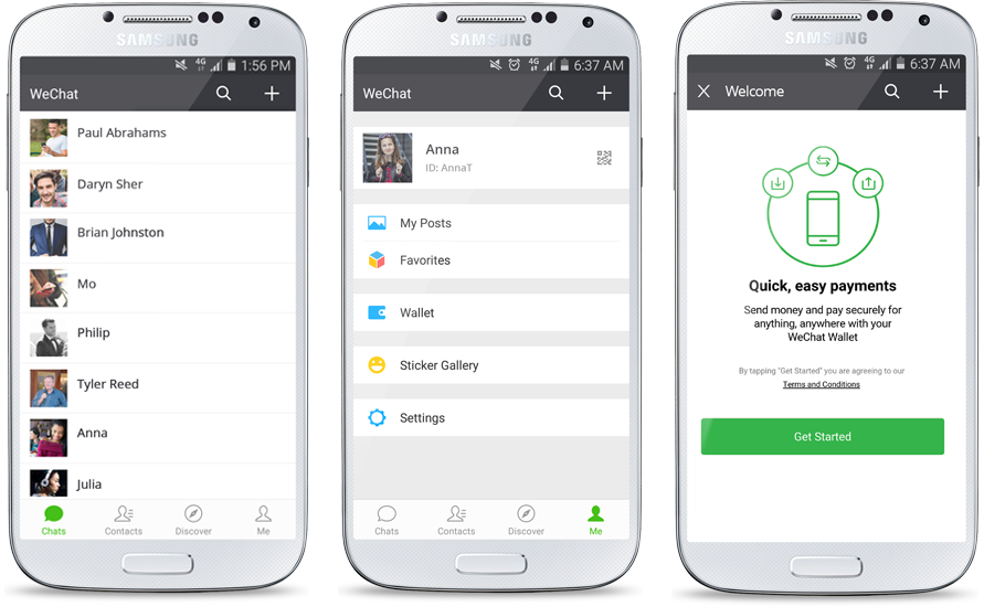 China based WeChat targets business expansion in Africa; South African mobile P2P transfer market expected to reach US$ 6.6 billion by 2020